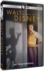 DVD Cover for American Experience: Walt Disney