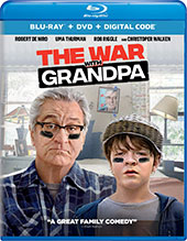 The War with Grandpa Blu-Ray Cover
