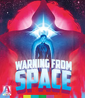 Warning Out of Space Blu-Ray Cover