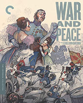 War and Peace Criterion Collection Blu-Ray Cover