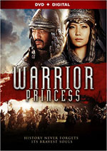 DVD Cover for The Warrior Princess