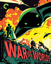 War of the Worlds Criterion Collection Blu-Ray Cover