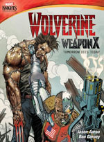 DVD Cover for Marvel Knights: Wolverine Weapon X: Tomorrow Dies Today