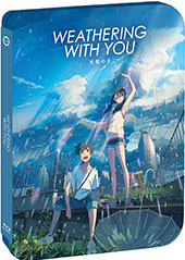 Weathering With You Steelbook Blu-Ray Cover