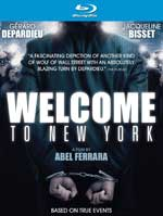 Welcome to New York Blu-Ray Cover