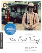 Wim Wenders: The Road Trilogy Criterion Collection Blu-Ray Cover