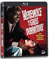 Werewolf in a Girls' Dormitory Blu-Ray Cover
