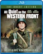 All Quiet on the Western Front Blu-Ray Cover