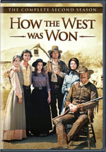 DVD Cover for How the West Was Won the Complete Second Season