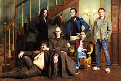 Jemaine Clement, Taika Waititi and the rest of the vampire clan try to get with the times in the 2015 horror comedy What We Do in the Shadows.