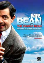 DVD Cover for Mr. Bean: The Whole Bean 25th Anniversary Collection