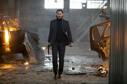 Keanu Reeves is looking for revenge in the 2014 top action film John Wick