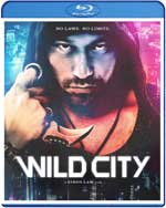 Wild City Blu-Ray Cover
