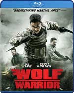 Wolf Warrior Blu-Ray Cover