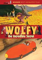 DVD Cover for Wolfy, the Incredible Secret