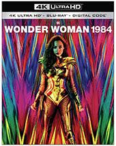 Wonder Woman 1984 Blu-Ray Cover