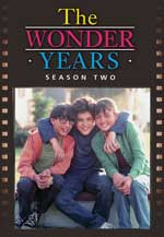 DVD Cover for Wonder Years: The Complete Second Season