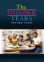 DVD Cover for The Wonder Years - Season 3