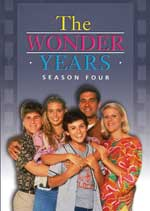 DVD Cover for The Wonder Years: The Complete Fourth Season