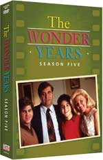 DVD Cover for The Wonder Years: The Complete Fifth Season