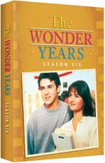 DVD Cover for The Wonder Years: The Complete Sixth Season
