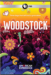 Woodstock: Three Days That Defined a Generation DVD Cover
