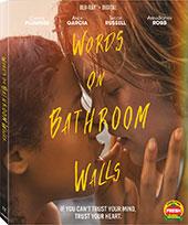 Words on Bathroom Walls Blu-Ray Cover