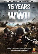 DVD Cover for 75 Years of WWII