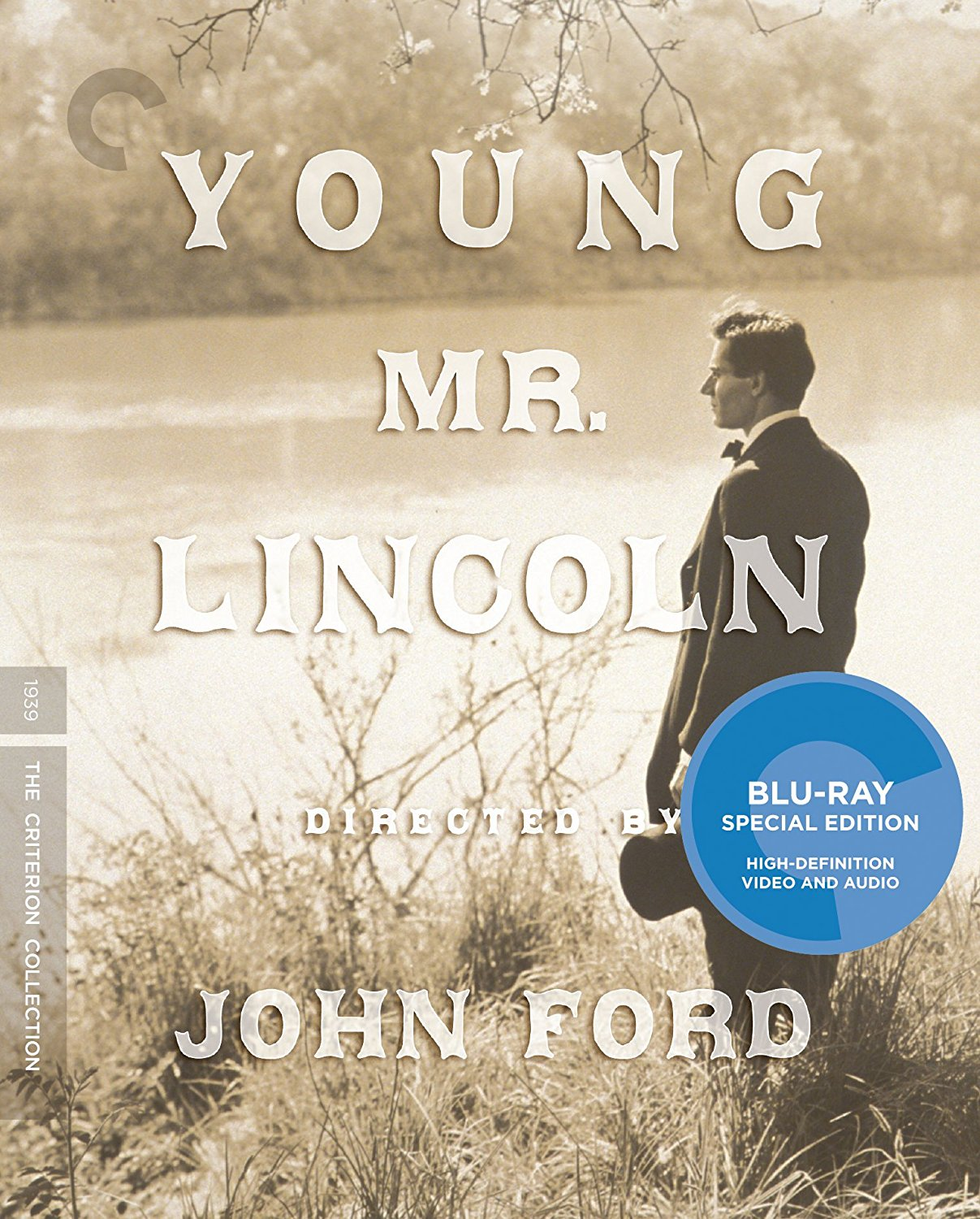 Young Mr. Lincoln Criterion Collection Blu-Ray Cover