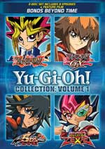 DVD Cover for Yu-Gi-Oh! Collection: Volume 1