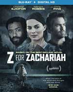 Z for Zachariah Blu-Ray Cover