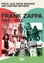 DVD Cover for Frank Zappa: Freak Jazz, Movie Madness & Another Mothers