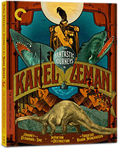 Three Fantastic Journeys by Karel Zeman Criterion Collection Blu-Ray Cover