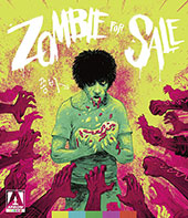 Zombie for Sale Blu-Ray Cover